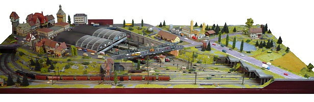 Perfect Model Train Layouts How Big Is Small